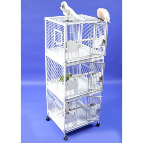 Divine Triple Stacked Bird Cage By A Amp E Cages