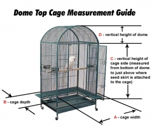 custom bird cage covers are available based on size, shape and fabric