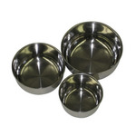 "Replacement 4"" Stainless Steel Bird Cage Bowls"