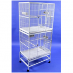 Vertical Double Forte Flight Cage