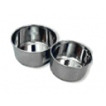 Avian Adventures Small Stainless Steel Cups (3-Pack)