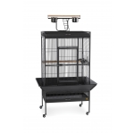 Prevue Wrought Iron Playtop Cage - Medium
