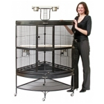 Prevue Extra Large Corner Cage