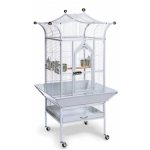prevue bird cage with seed skirt