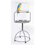 Rounded Parrot Playstand (by Prevue Hendryx)
