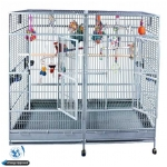 A&E Stainless Steel Bird Cage