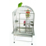 Stainless Steel Kasterra Dome Top Bird Cage