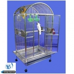 Stainless Steel Majestic Dome Top Bird Cage