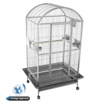 A&E Stainless Steel Large Dome Top Bird Cage