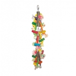 Hanging Wood Blocks on Rope - Large