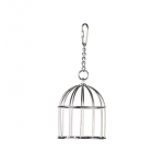 "Mini Stainless Steel Treat Cage 6""x3"""