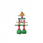 Jingle Bell Parrot Toy for Medium and Large Parrots