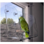 Large Window perch for parrots