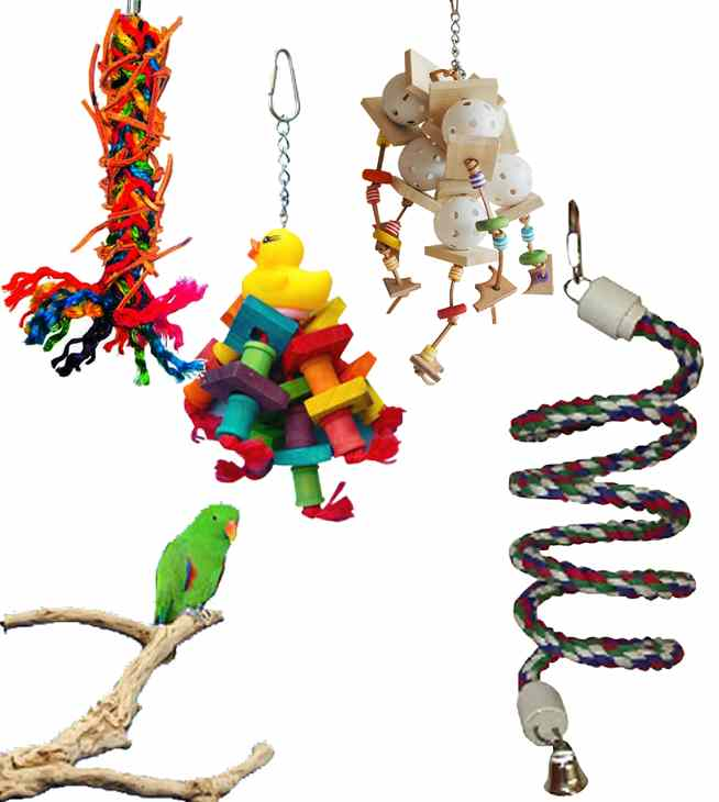 Make Is Easy Shop Bird Toy Packages
